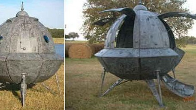 Home-Made Space Ship could be yours for $3500