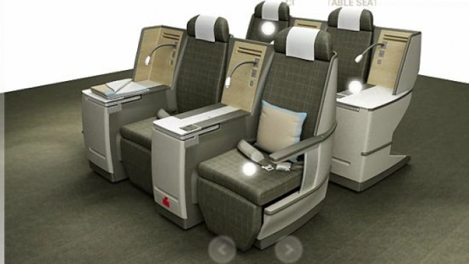 New SWISS Business Seat –  A multimedia bed above the clouds!