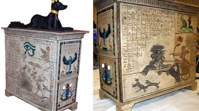 Mod like an Egyptian: PC case inspired by King Tut