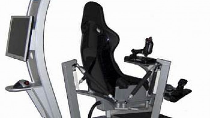 'X6′ 6-axis racing simulator offers the ultimate racing experience