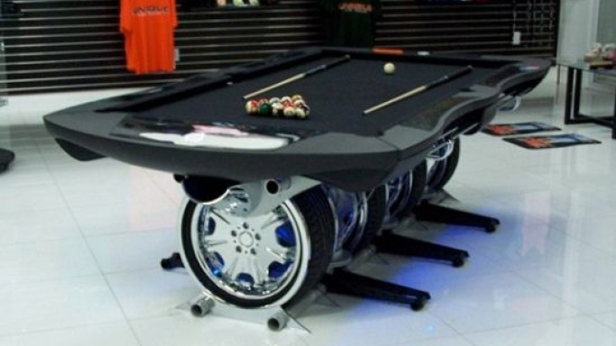 Unique Autosports pool table for unique class