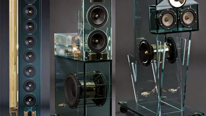 Perfect8 5.1 glass-speaker system will cost $566,000  for sheer audio pleasure