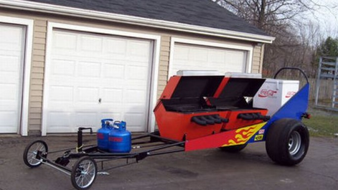 The ultimate BBQ Dragster by Tom Gasper