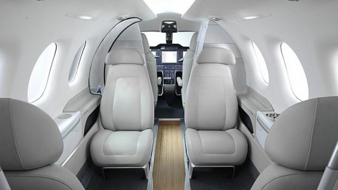 BMW revives its aviation history with luxury passenger cabins