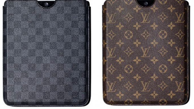 Louis Vuitton's iPad case is for the filthy rich Apple fan boy