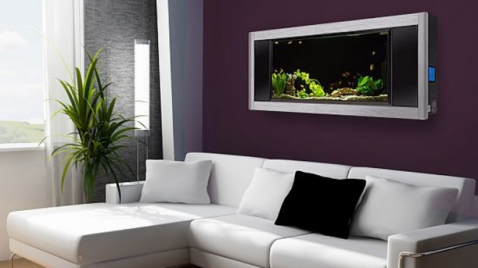 Create a stunning ecosystem on your walls with Aquavista Panoramic Aquarium
