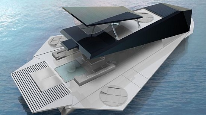 Origami yacht to epitomize your seagoing experience with foldable walls