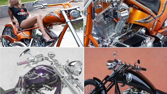 DiMora is back to seduction with world's finest custom bikes