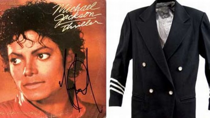 Gotta Have It! to auction items they got from Michael Jackson himself