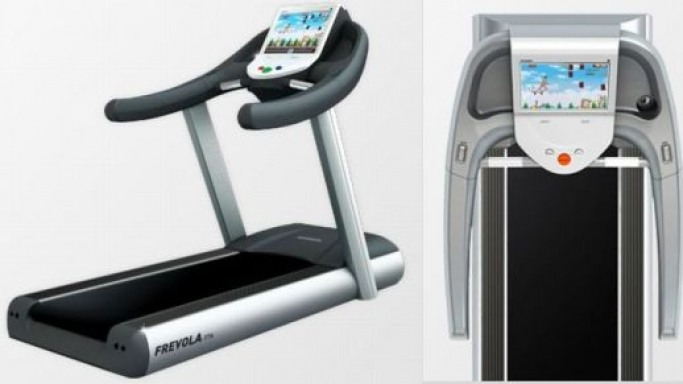 Frevola T7A treadmill lets you play Nintendo games while working out