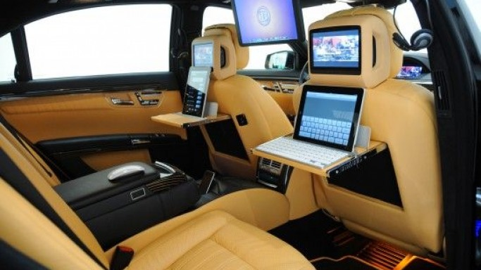 Brabus Mercedes S600 iBusiness is a high-tech office on wheels
