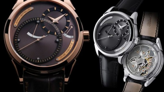 Baselworld 2011:  Grönefeld intros the One Hertz Dune in rose gold