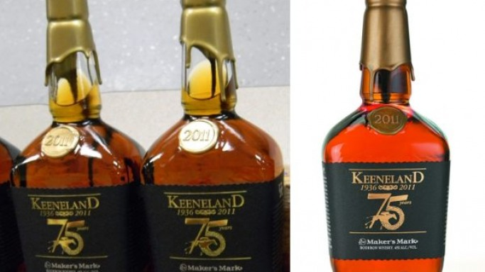 Limited edition Maker's Mark bottle honors Keeneland's 75th anniversary