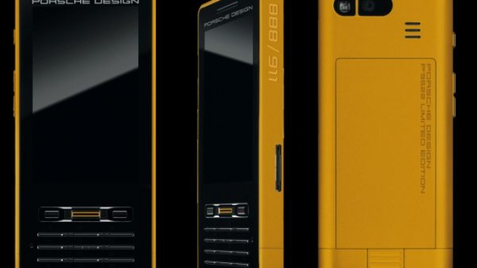 Porsche Design gives its P'9522 luxury phone the gold treatment