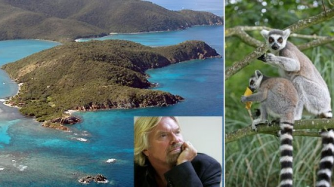 Sir Richard Branson's eco-resort plan raises alarm over non-native lemurs