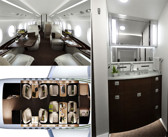 BMW Group DesignworksUSA does the new Falcon 2000S business jet