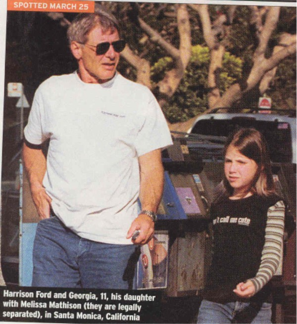 Harrison Ford Daughter...