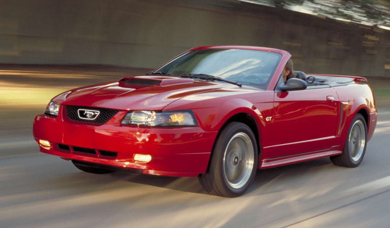 photo of Carrie Underwood Mustang - car
