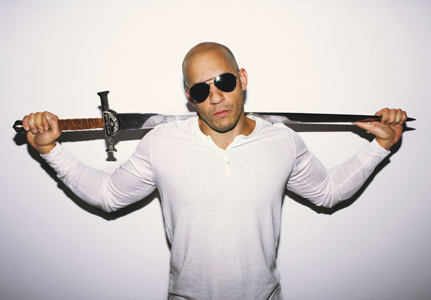 Vin Diesel has been spotted wearing the Ray-Ban 3211 sunglasses on    Vin Diesel Muscles 2012