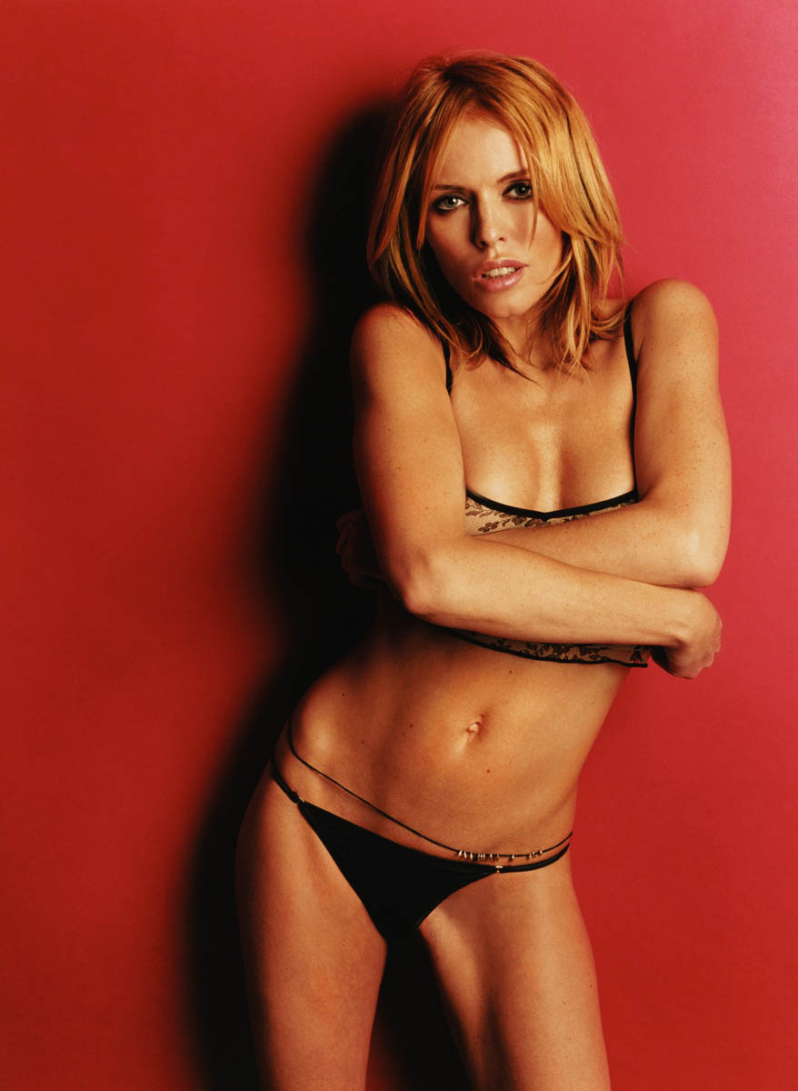 This Is A Hot And Sey Shoot By Patsy Kensit In Black
