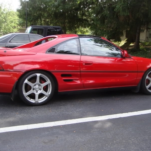 Toyota MR2 Turbo Exterior