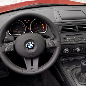 BMW Z4M Coupe Interior