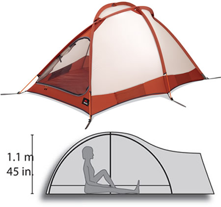 2008 MSR Fury Bombproof Camping Tent gets more lighter for your adventures